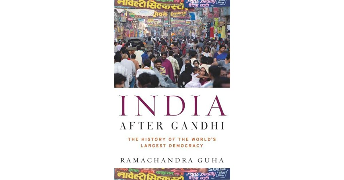 india after gandhi book pdf