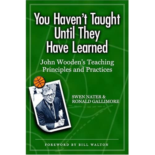 Book Report On John Wooden Wooden On Leadership Research Paper