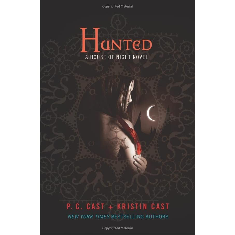 Hunted (house Of Night, #5) By Pc Cast €� Reviews, Discussion, Bookclubs,  Lists