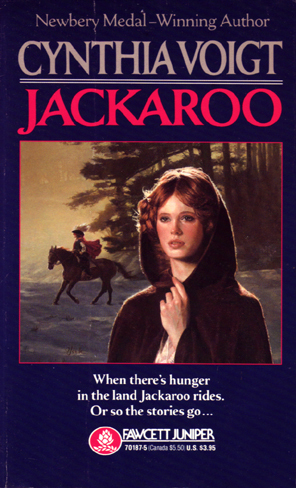 a review of the jackaroo by cynthia voigt Author cynthia voigt has published  positively reviewed and well received by  readers, and despite the fact  song and come a stranger], gwyn [jackaroo],  beriel [elske]  cynthia voigt's work with a new eye by providing.