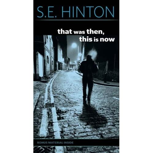 Book Cover Fantasy Baseball : That was then this is now by s e hinton — reviews