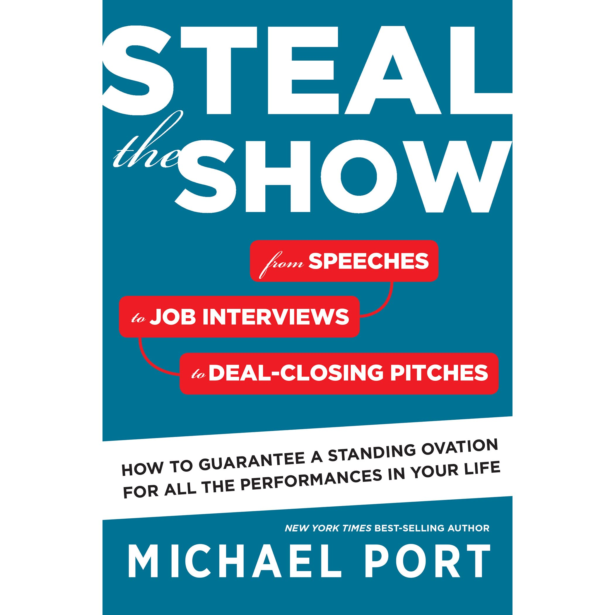 steal the show from speeches to job interviews to deal closing steal the show from speeches to job interviews to deal closing pitches how to guarantee a standing ovation for all the performances in your life by