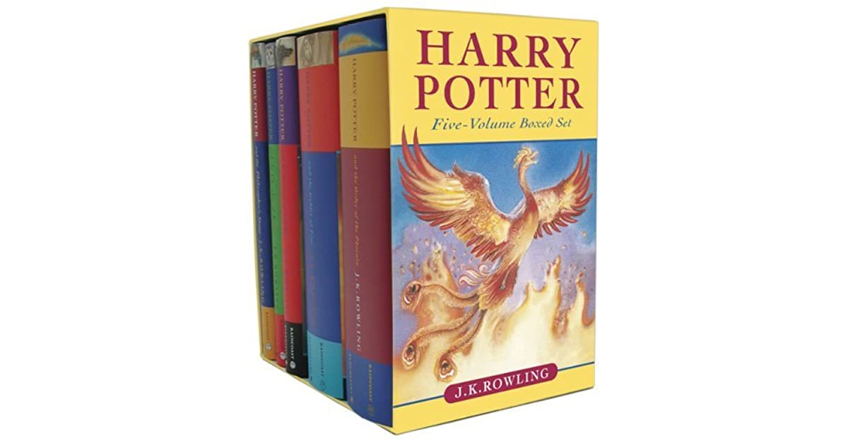 Harry Potter Book Goodreads : Harry potter cloth box set by j k rowling — reviews
