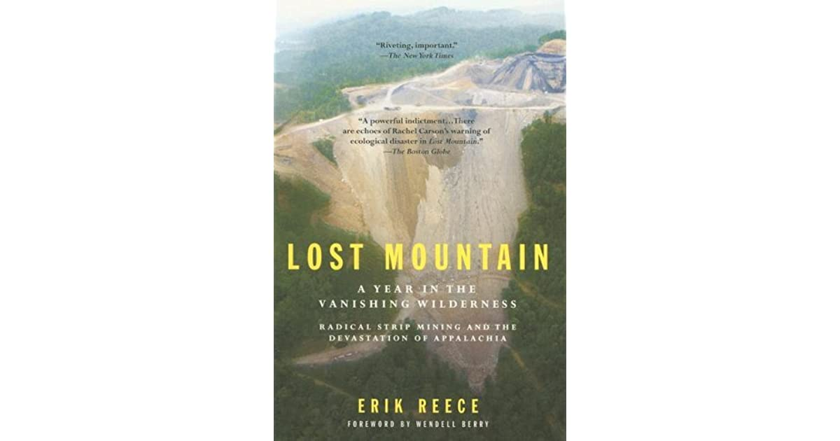 Collegelost mountain by erik reece book review