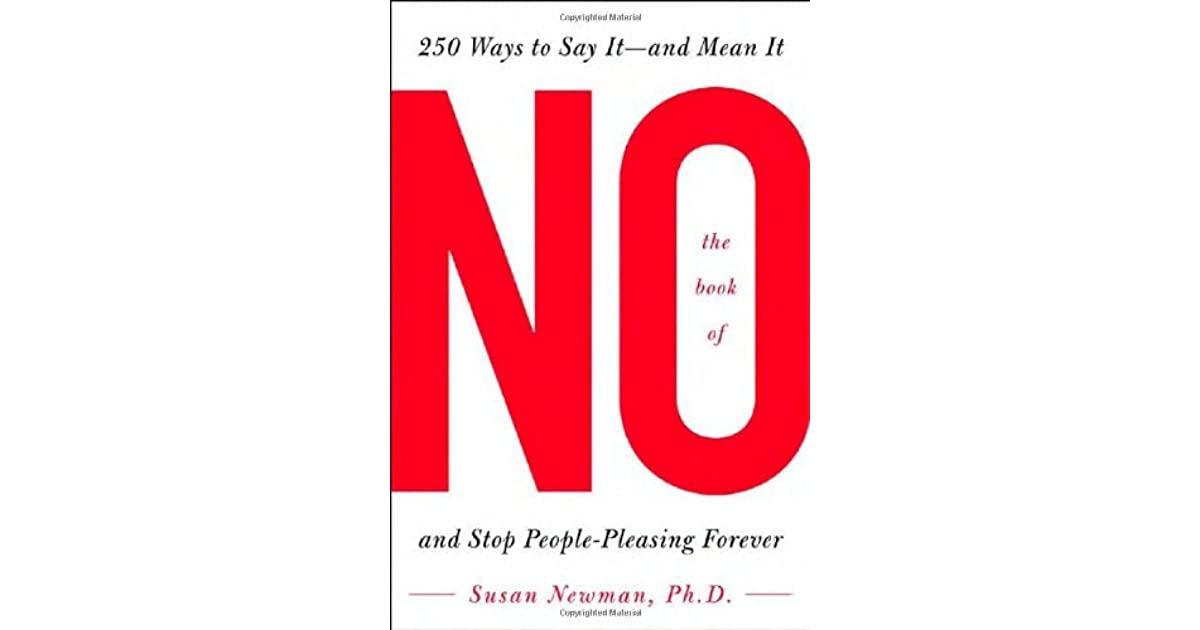 the book of no 250 ways to say it pdf
