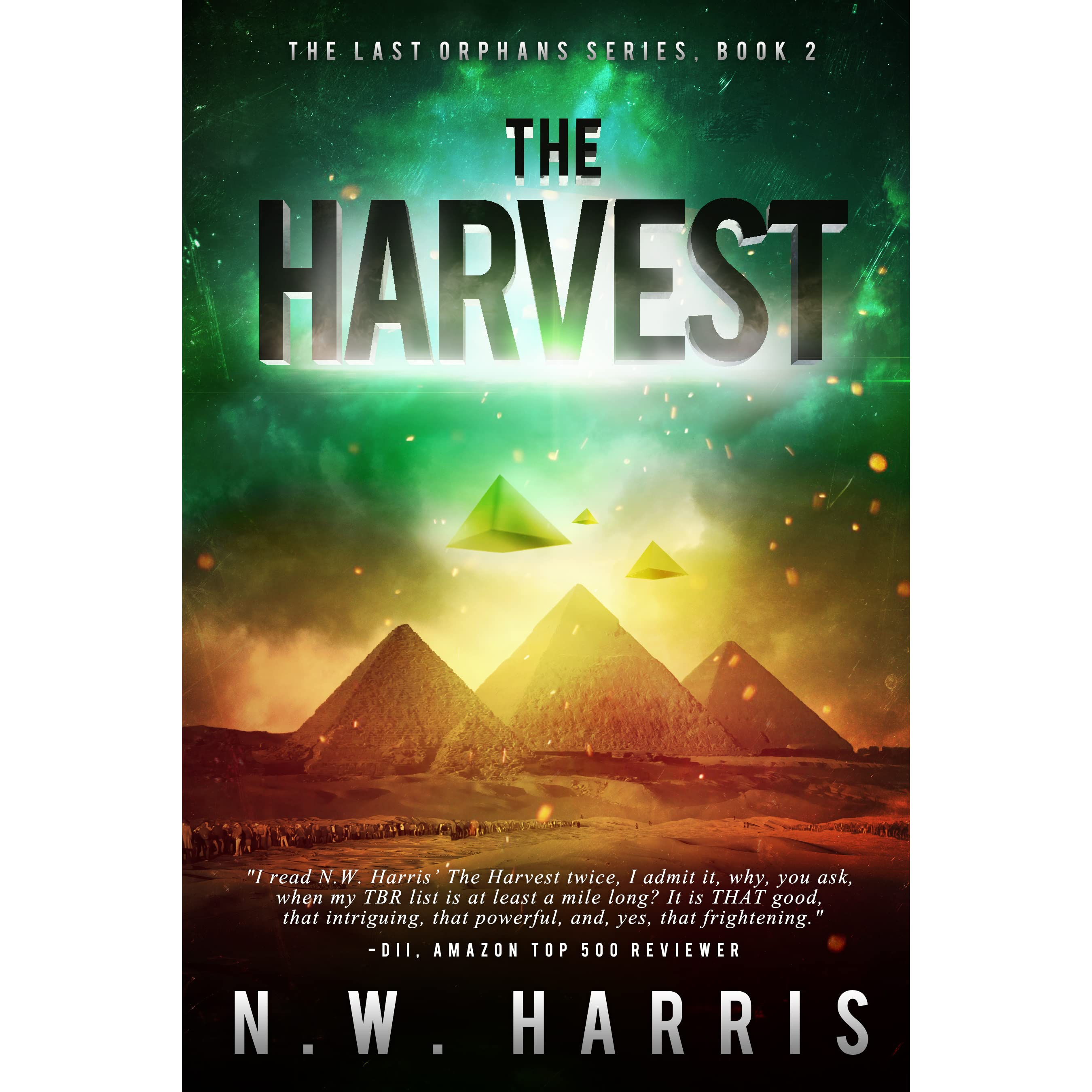 The Harvest (the Last Orphans #2) By Nw Harris €� Reviews, Discussion,  Bookclubs, Lists