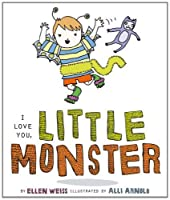 I Love You, Little Monster: with audio recording