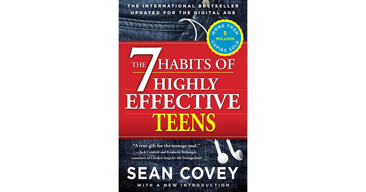 a review of sean coveys book the seven habits of highly effective teens The 7 habits of highly effective teens by sean covey, 9781416595861, available at book depository with free delivery worldwide.