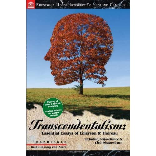 transcendentalism in emersons writing Free essay: transcendentalism and ralph waldo emerson transcendentalism was a literary movement that began in the beginning of the 1800's and lasted up until.