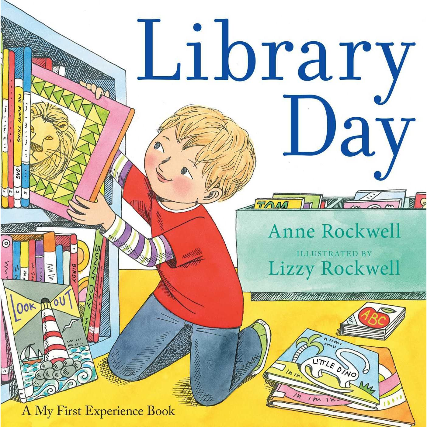 Motivational Quotes For Sports Teams: Library Day By Anne F. Rockwell