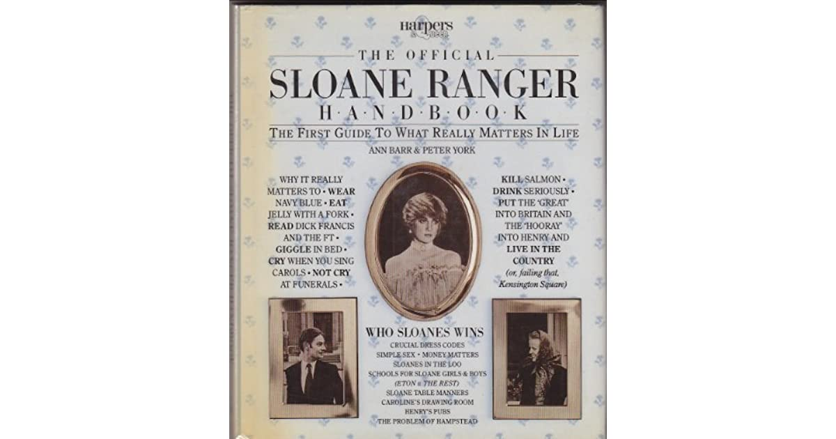 Sloane Ranger Handbook - Revisiting the guide 35 years on