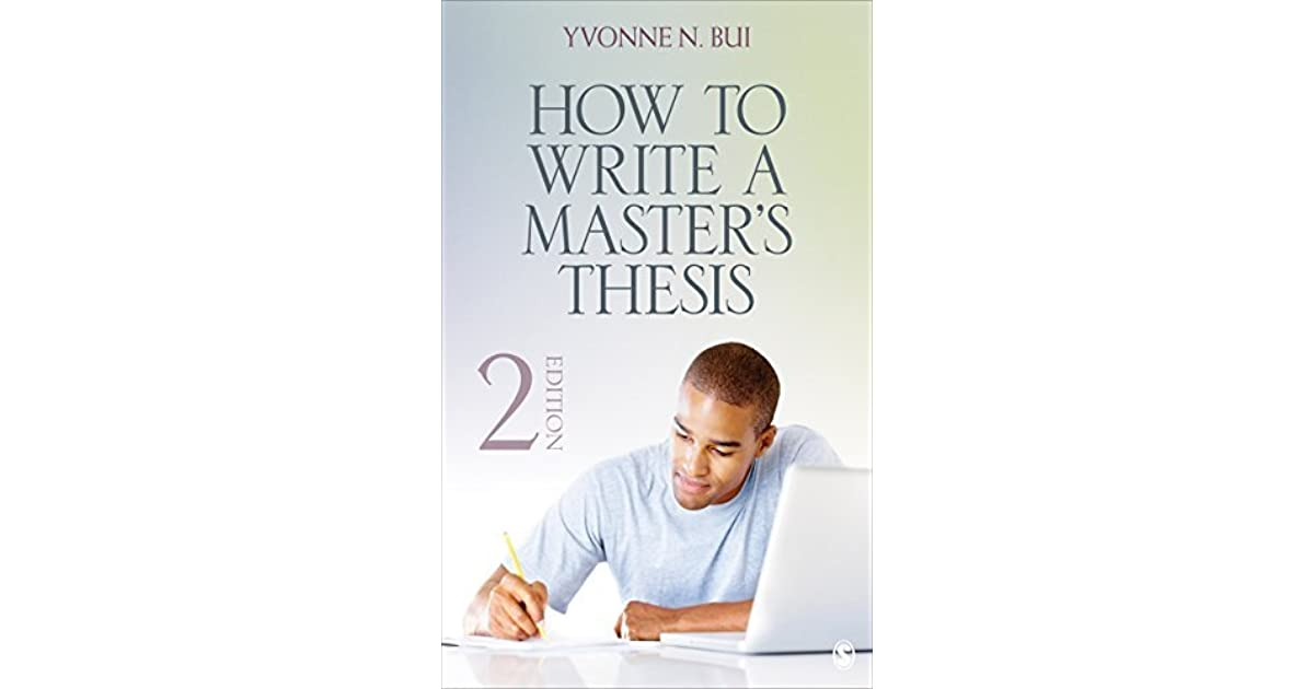 writing a master's dissertation