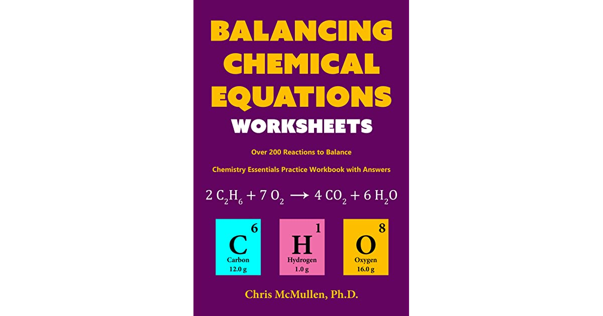 Chemistry balancing equations worksheet pdf
