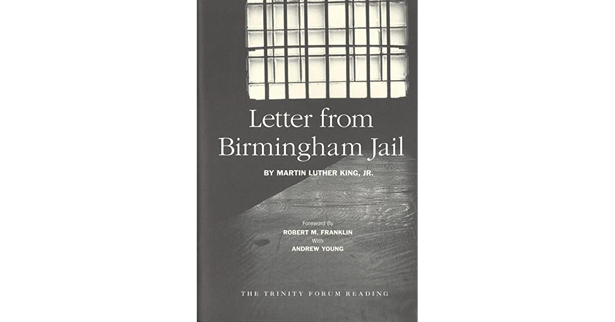 Letter from birmingham jail argumentative essay