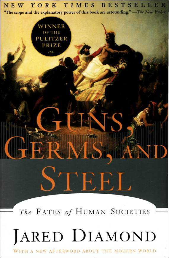 guns germs and steel summer reading Log in with facebook guns, germs, and steel questions and answers the question and answer sections of our study guides are a great resource to ask questions, find answers, and discuss literature.