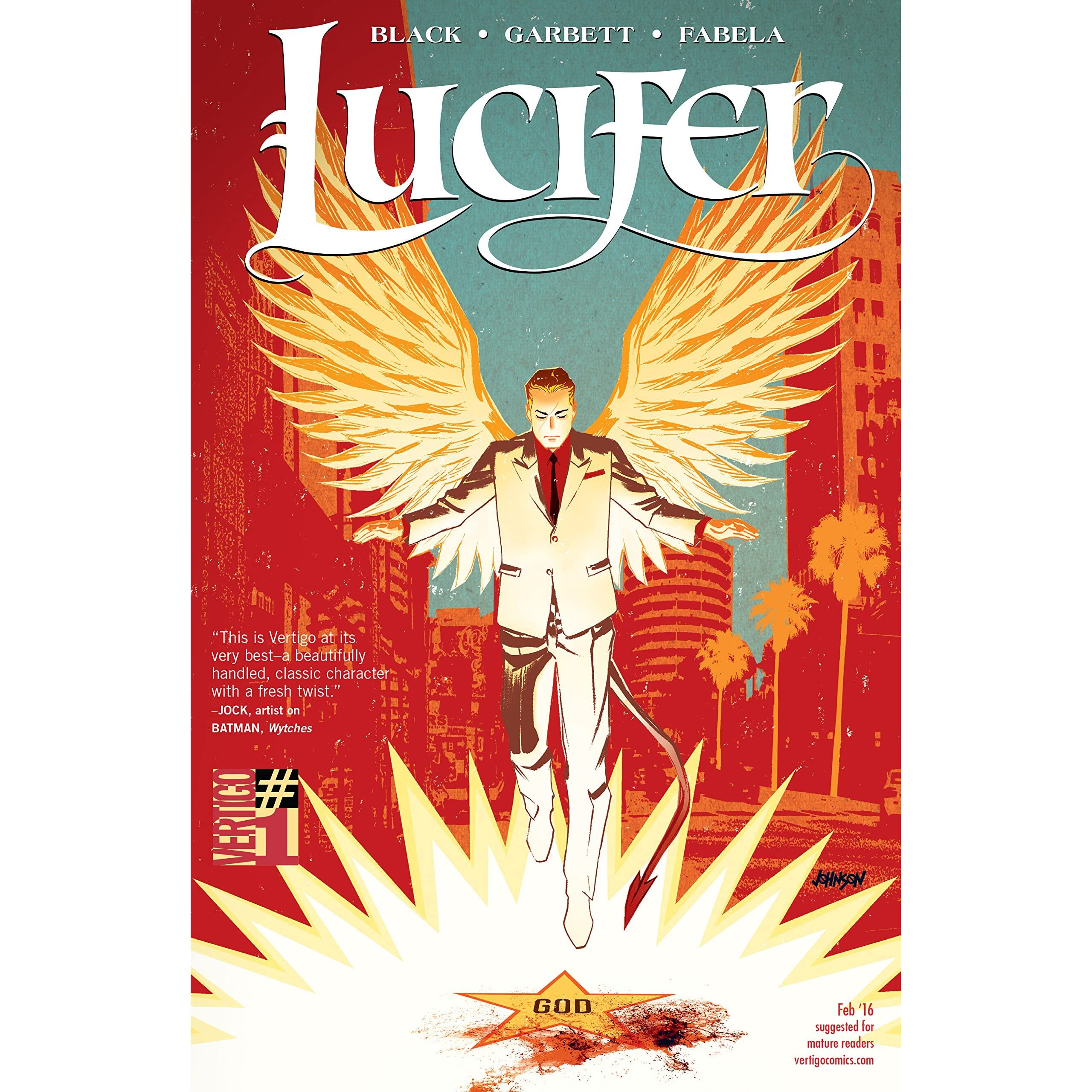 Lucifer, Volume 1: Cold Heaven By Holly Black