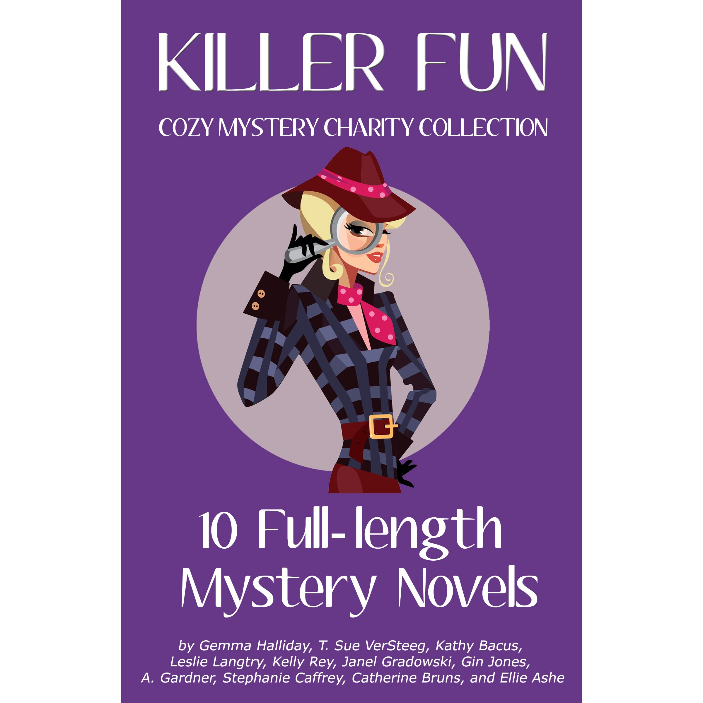 Killer Fun: Cozy Mystery Charity Collection By Gemma