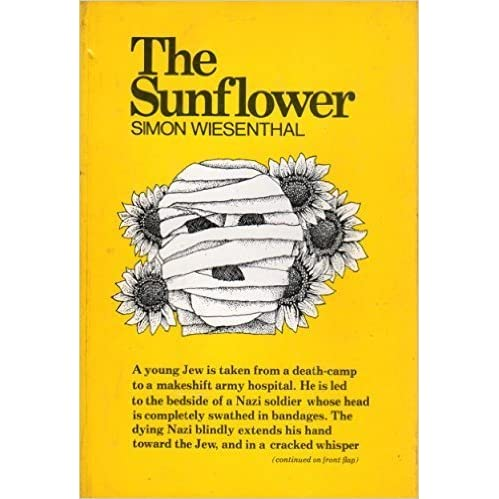 the sunflower by simon wiesenthal essay The sunflower: on the [simon wiesenthal] the last half consists of a series of some 50 essays by a variety of people trying to answer that profound question.