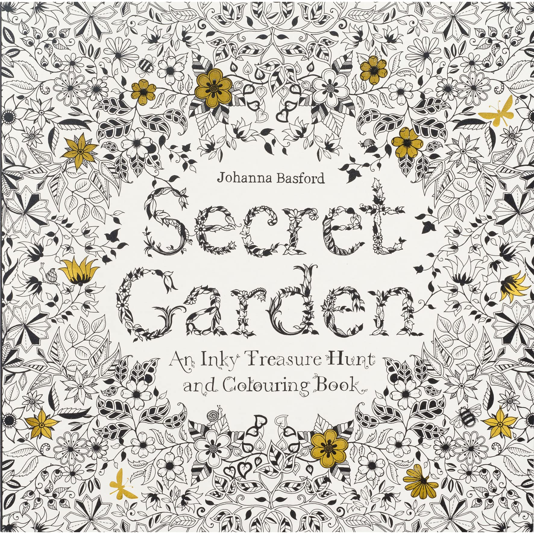 The secret garden coloring book review - Secret Garden An Inky Treasure Hunt And Colouring Book By Johanna Basford Reviews Discussion Bookclubs Lists