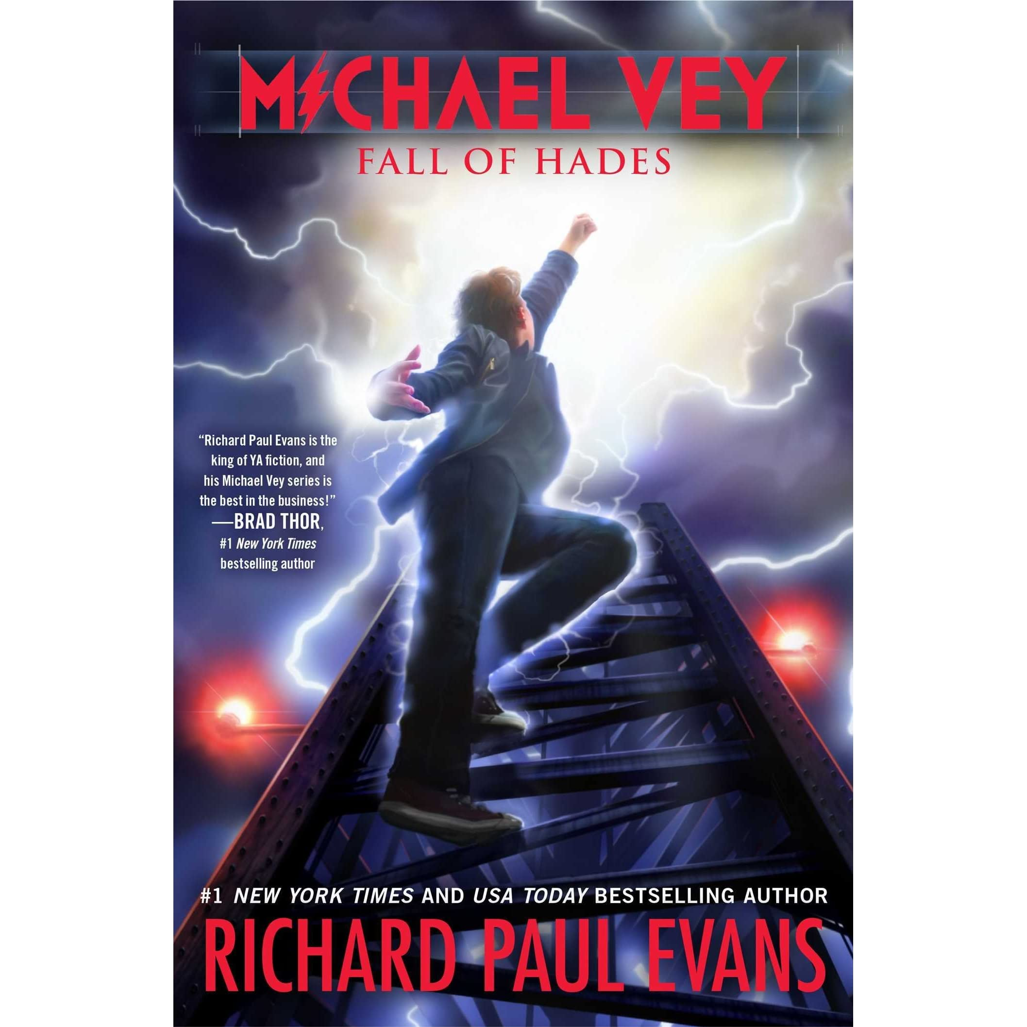 Fall of Hades (Michael Vey, #6) by Richard Paul Evans — Reviews ...