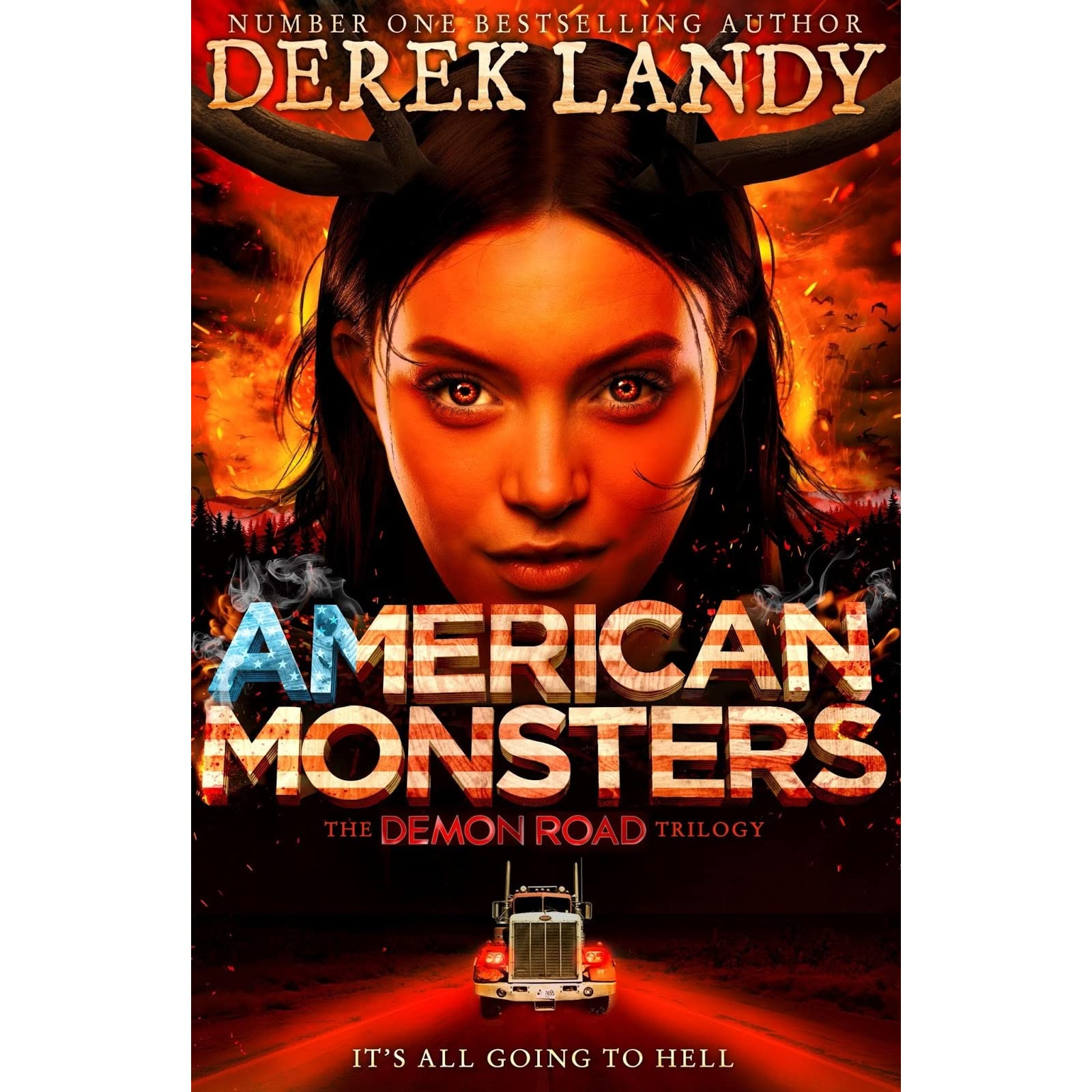 American Monsters (Demon Road, #3) - Derek Landy