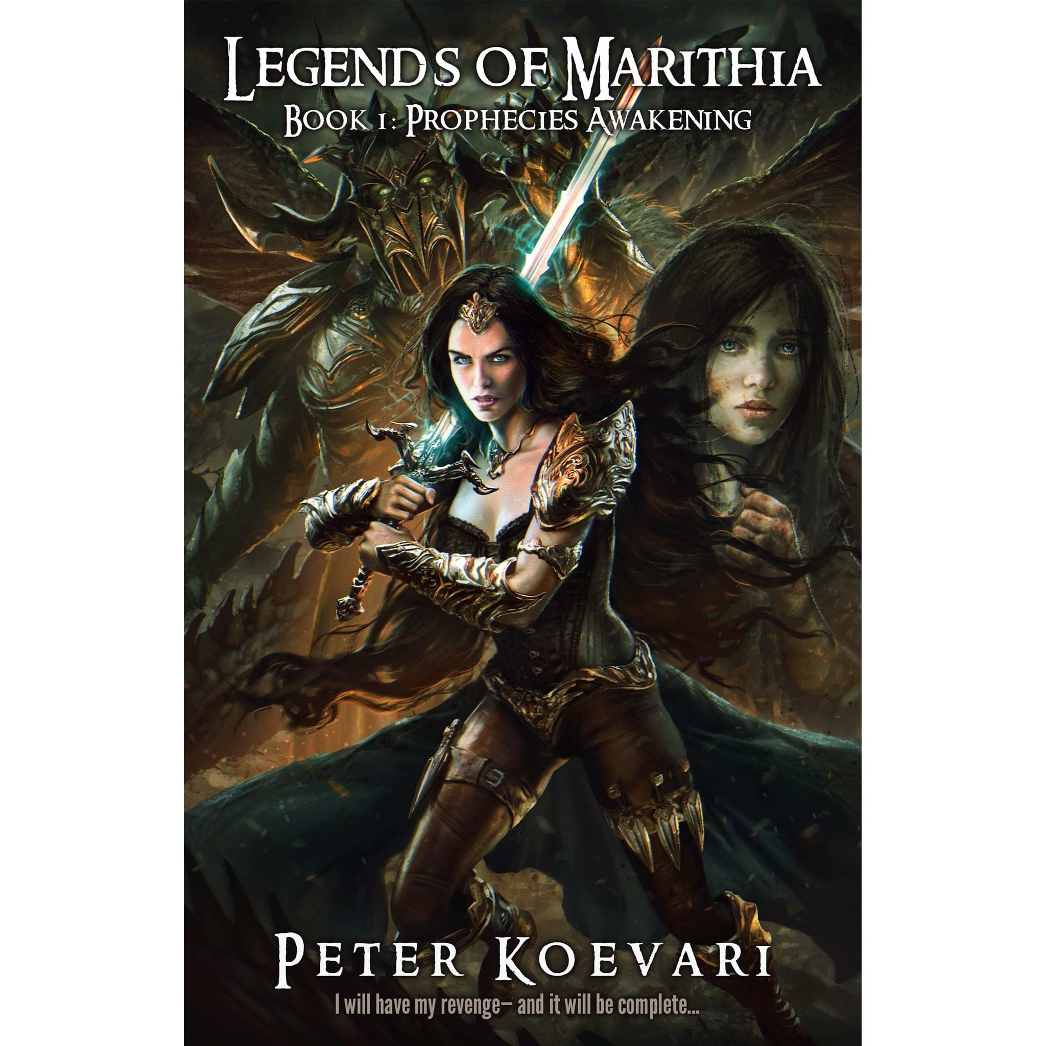 Prophecies Awakening (legends Of Marithia, #1) By Peter Koevari €� Reviews,  Discussion, Bookclubs, Lists