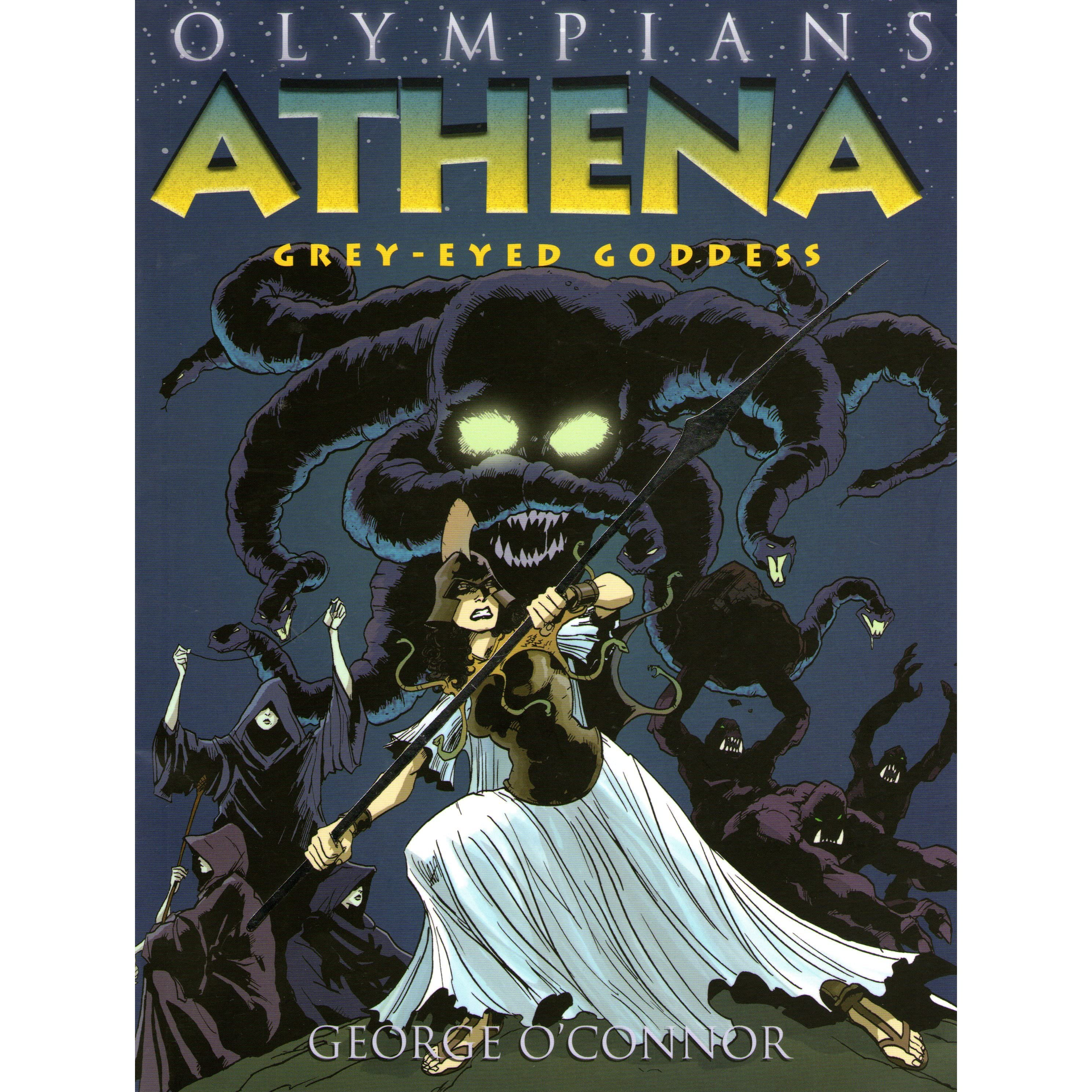 Athena: Greyeyed Goddess (olympians, #2) By George O'connor €� Reviews,  Discussion, Bookclubs, Lists