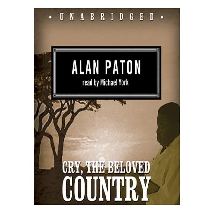 a review of alan patons book cry the beloved country Cry, the beloved country alan paton table of contents plot book iii: chapters 30–33 hilarious online reviews of classic novels.