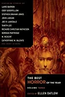 The Best Horror of the Year, Volume Three
