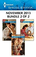 Harlequin Special Edition November 2013 - Bundle 2 of 2: How to Marry a Princess / Holiday by Design / The Nanny's Christmas Wish