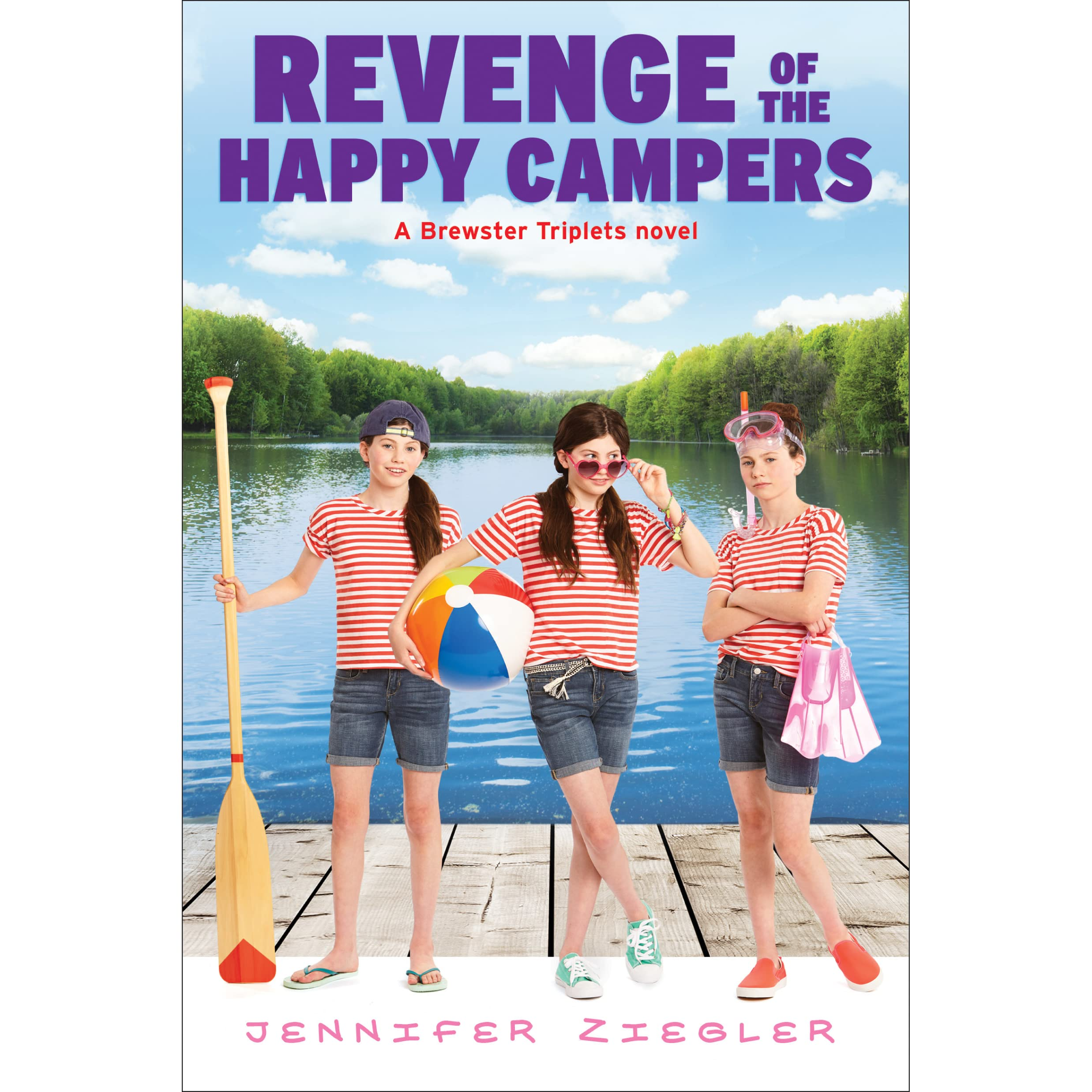 Revenge Of The Happy Campers By Jennifer Ziegler €� Reviews, Discussion,  Bookclubs, Lists