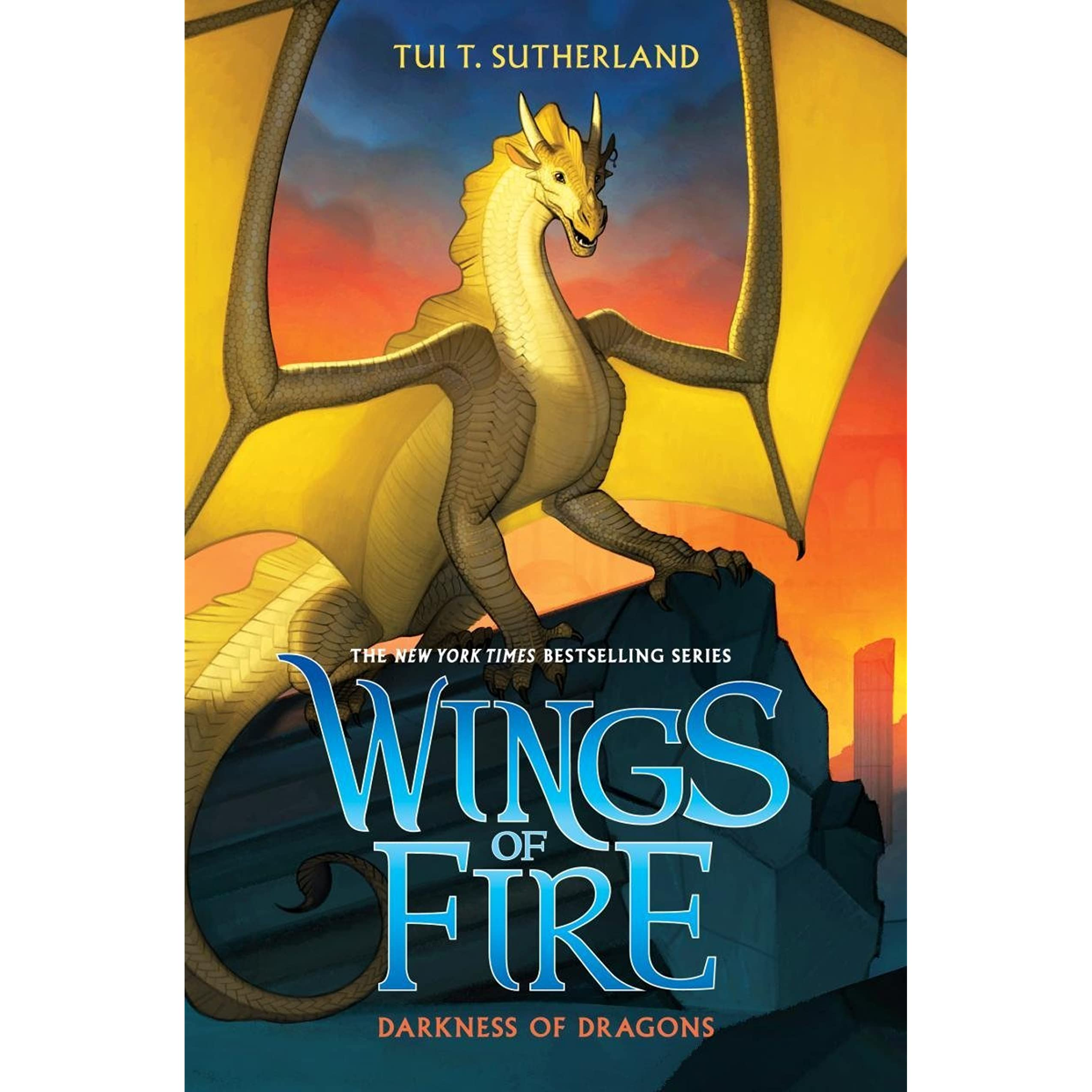 darkness of dragons wings of fire book 10 by tui t