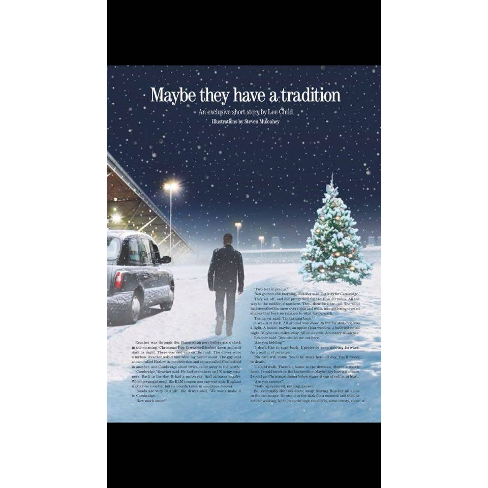 Maybe They Have A Tradition By Lee Child €� Reviews, Discussion, Bookclubs,  Lists