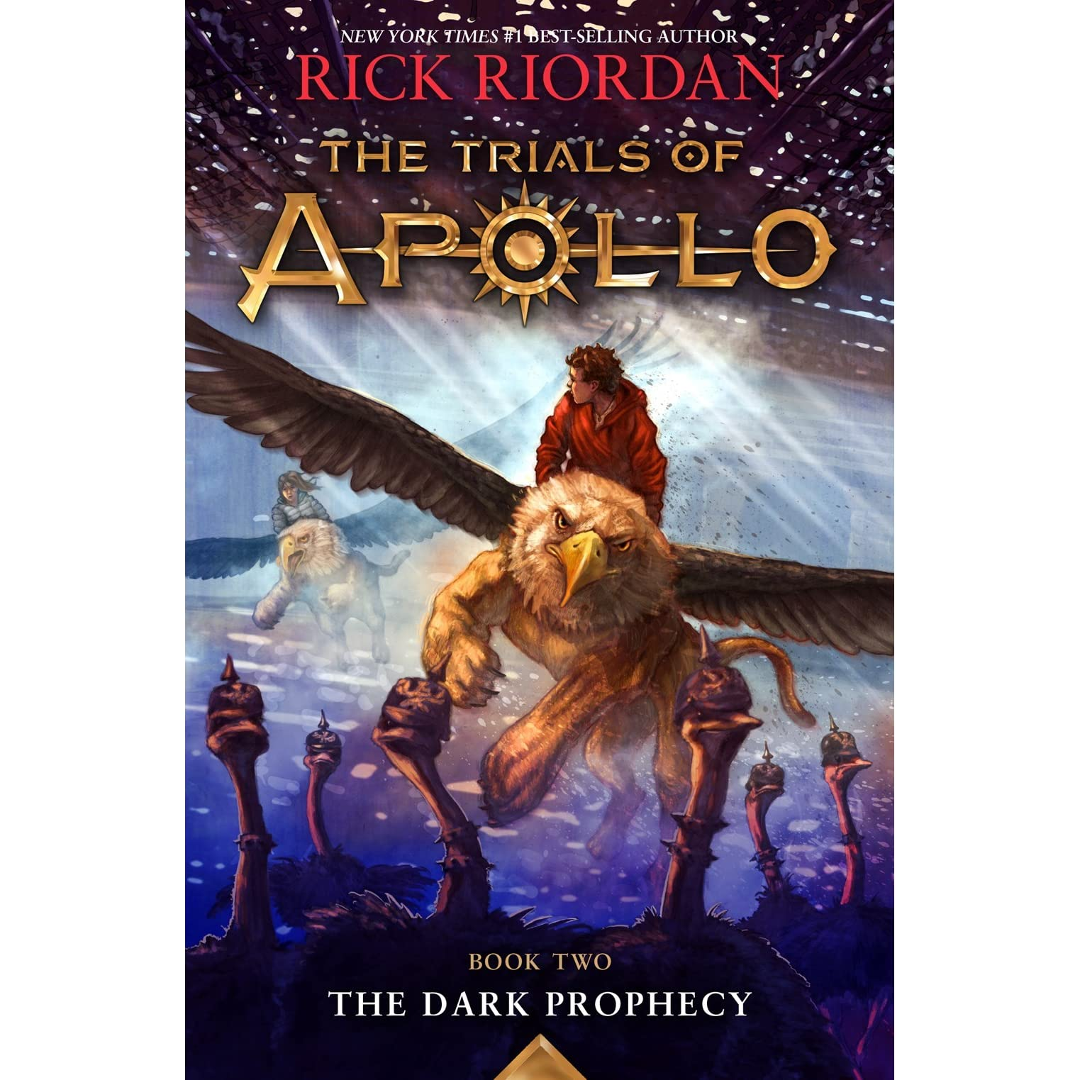 The Dark Prophecy The Trials Of Apollo 2 By Rick