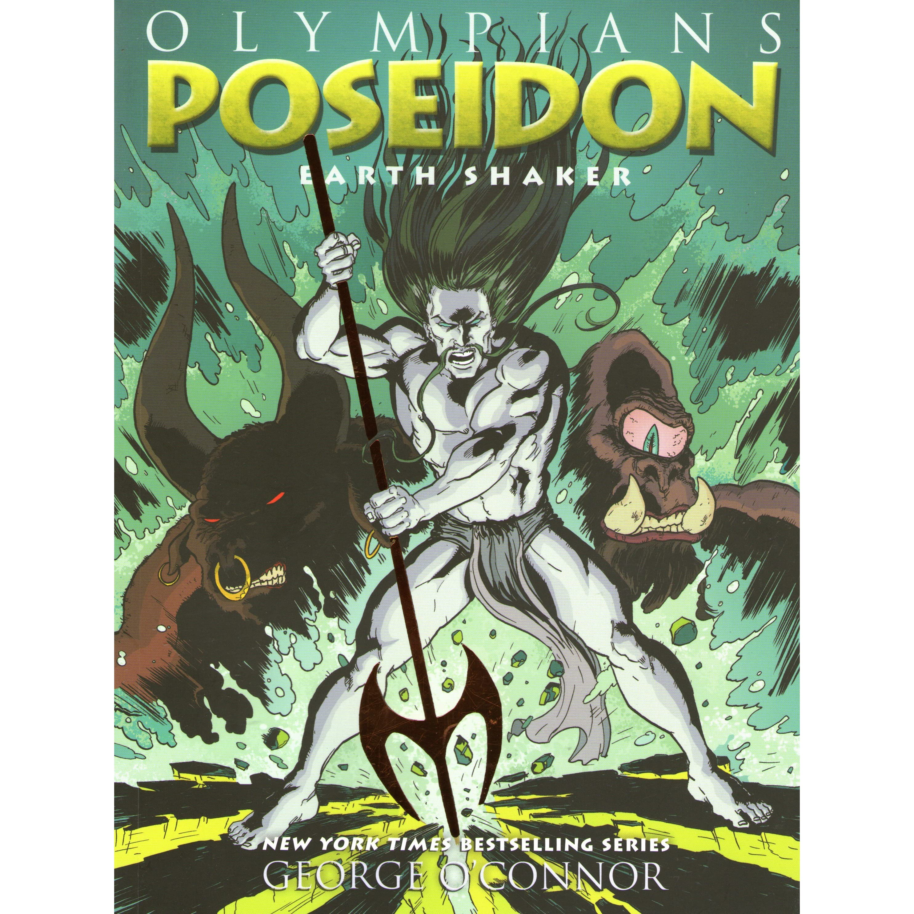Poseidon: Earth Shaker (olympians, #5) By George O'connor €� Reviews,  Discussion, Bookclubs, Lists