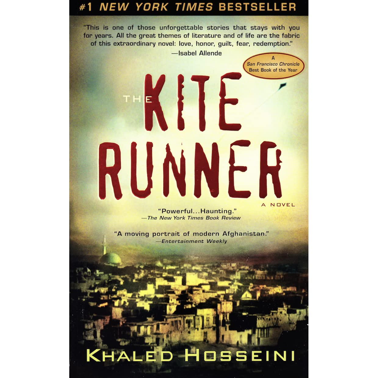 A book review of the kite runner by khaled hosseini