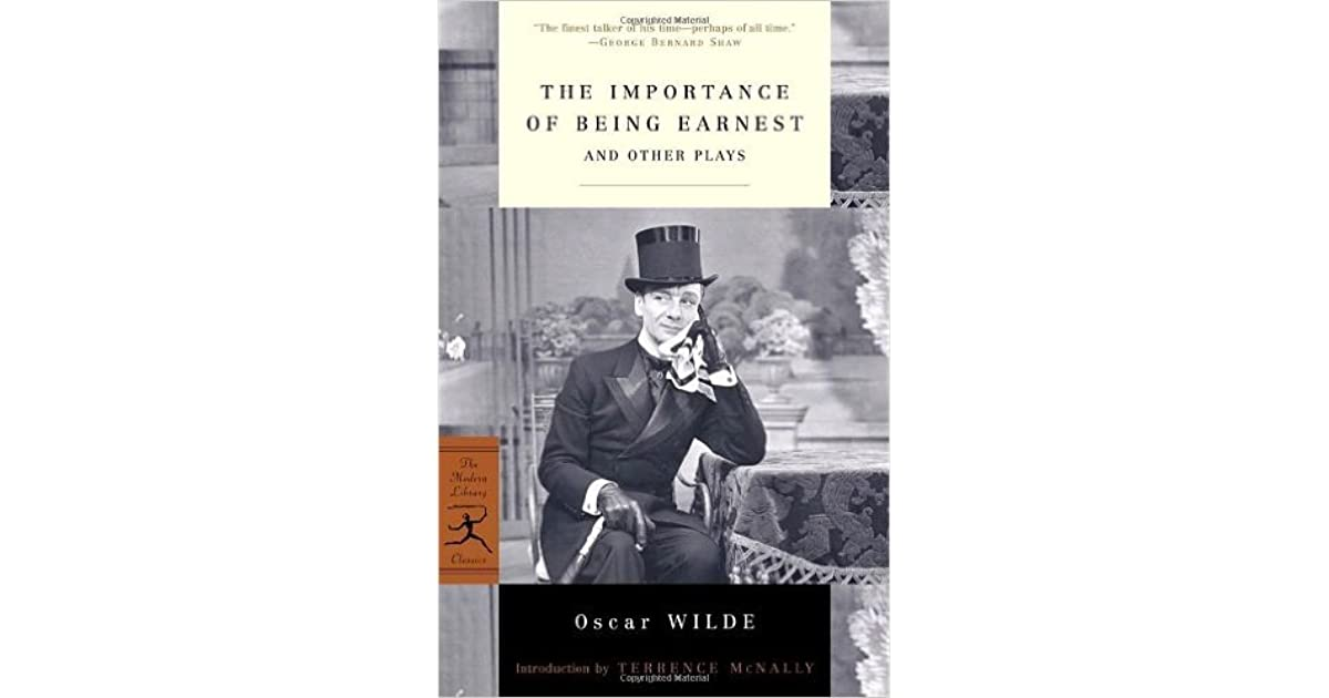 The Importance Of Being Earnest: And Other Plays By Oscar