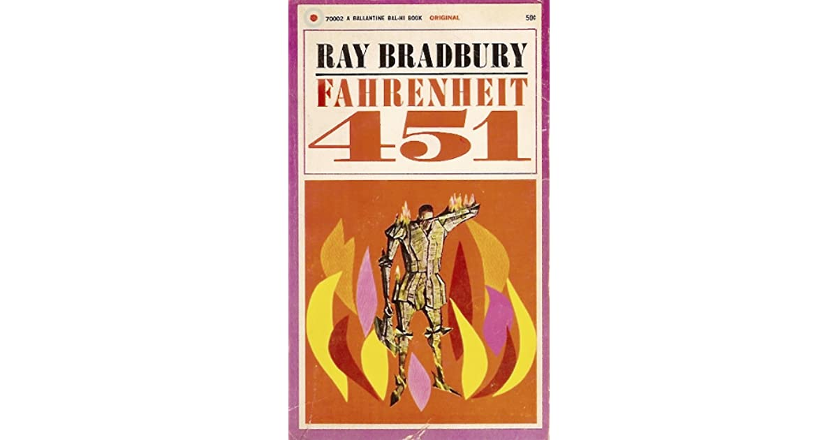 a review of ray bradburys fahrenheit 451 Review: fahrenheit 451 by ray bradbury this entry was posted on august 17, 2015, in -book review , 5 stars , classics , dystopian , fiction and tagged fahrenheit 451 review  bookmark the permalink.