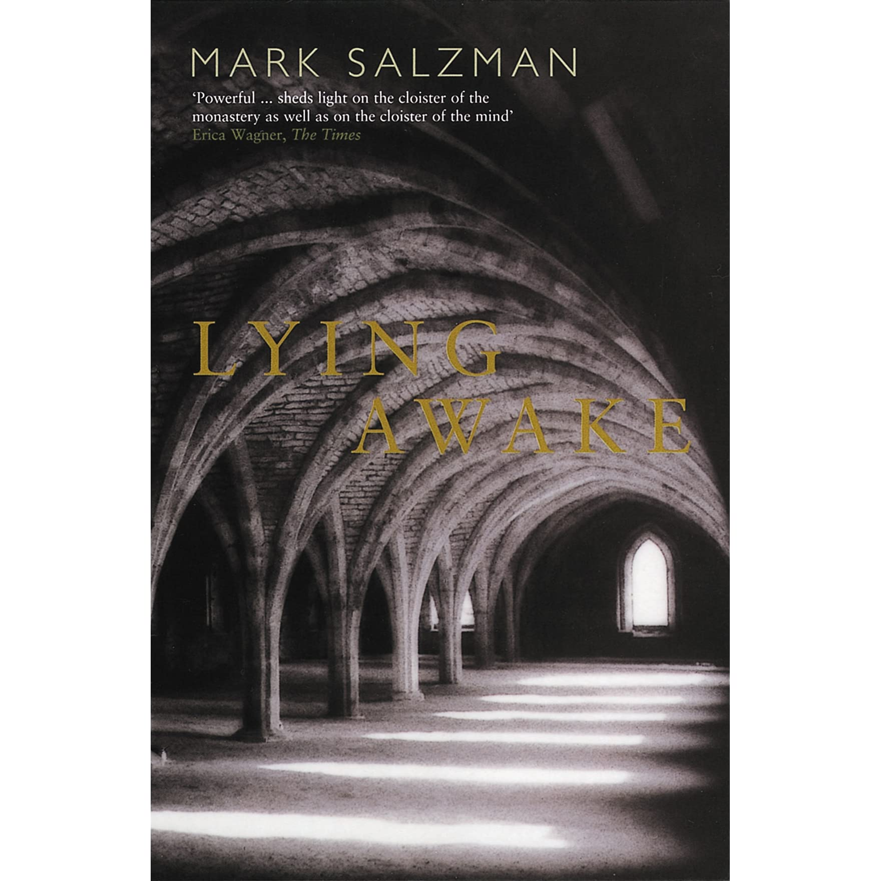 lying awake by mark salzman reviews discussion bookclubs lists