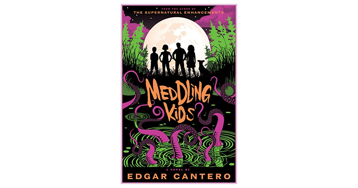Meddling Kids Book Cover : Meddling kids a novel by edgar cantero — reviews