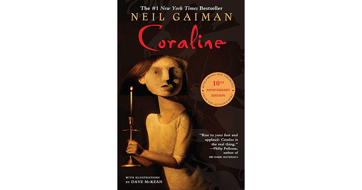 coraline neil gaiman book report Book review of coraline by neil gaiman, a children's horror novel about bravery, boredom, and getting everything you want.
