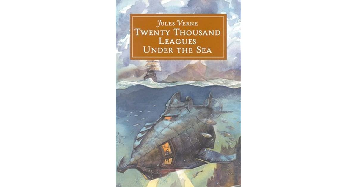 a reading report on twenty thousand leagues under the sea by jules verne One of the books i have read and re-read with unfailing pleasure and interest is jules verne's 'twenty thousand leagues under the sea' i can date my first reading precisely, as i still have my.