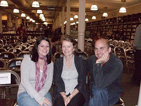 Me, Audrey's Editor and Micheal!