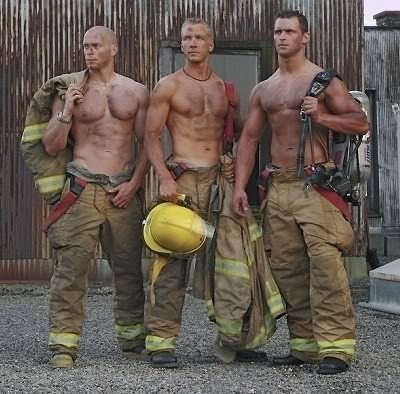 sexy firefighters Pictures, Images and Photos