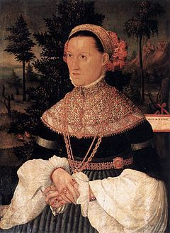 16th-century unknown painters - A Lady - WGA23786