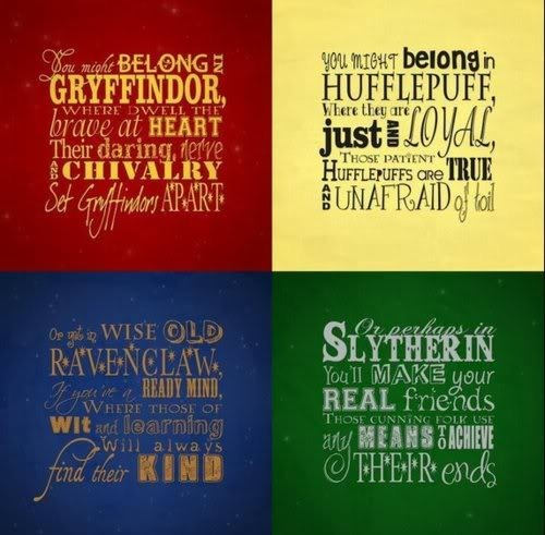 Which Hogwarts How Do You Belong To: Hogwarts School Of Witchcraft And Wizardry