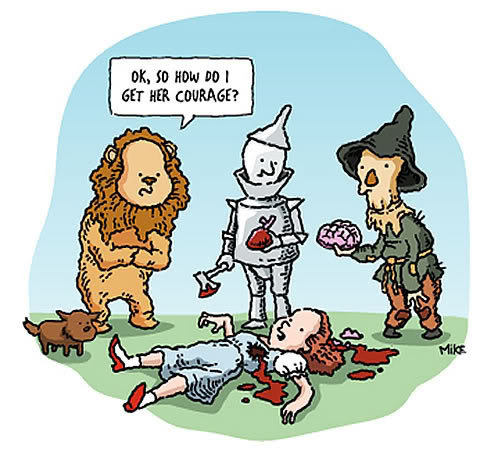 Wizard of Oz, the short version