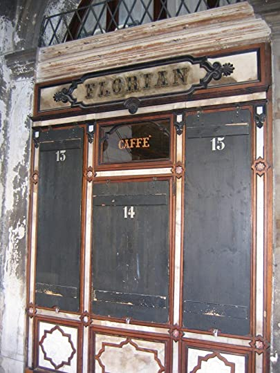 Cafe Florian - not open at 8am on a Sunday