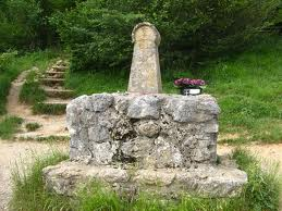The Cathar monument at Montsegur