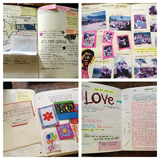 Planner pages - 2006 to 2012